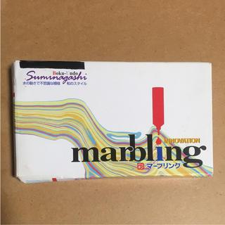 さいえき マーブリング 6色セット(絵の具/ポスターカラー )