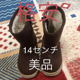 ブーツ 14センチ 美品(ブーツ)