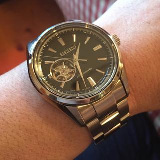 セイコー(SEIKO)の【超美品】セイコー プレサージュ ベーシックライン メカニカル 腕時計(腕時計(アナログ))