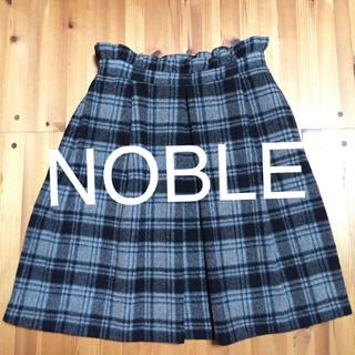 ノーブル(Noble)のNOBLEチェックスカート(ひざ丈スカート)