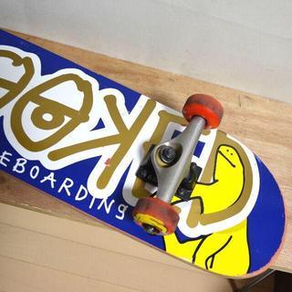 クルキッド(KROOKED)のスケボー KROOKED スケートボードコンプリート メンテ済み 状態◎(スケートボード)