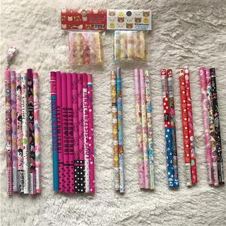 【新品】エンピツ 26本 ♡ キャップ 2袋 セット(鉛筆)