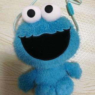 セサミストリート(SESAME STREET)のクッキーモンスター がま口ポーチ(キャラクターグッズ)