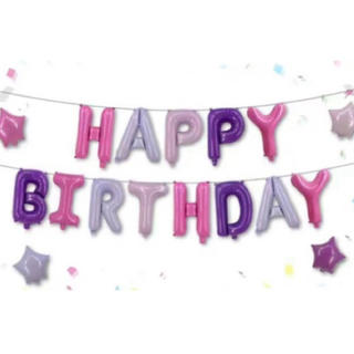 誕生日バルーン 名前 年齢 文字 アルファベット 数字(その他)