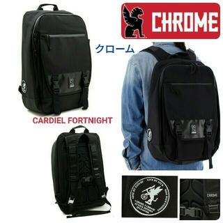 クローム(CHROME)のCHROME クローム☆CARDIEL FORTNIGHTバックパック黒リュック(バッグパック/リュック)