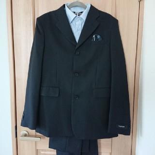 美品】170㎝ スーツ ワイシャツ セット  キッズ用   卒園式(ドレス/フォーマル)