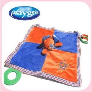 新品 プレイグロー PLAYGRO ブランケット ライオン(毛布)