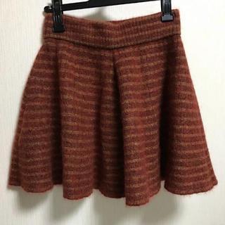 ヴィヴィアンウエストウッド(Vivienne Westwood)の数回のみ着用  ヴィヴィアンウエストウッド ウール フレアー ミニスカート(ミニスカート)