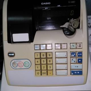カシオ(CASIO)のカシオ電子レジスターTE-M80(店舗用品)