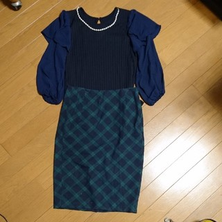 Old Navy - チェックタイトスカート