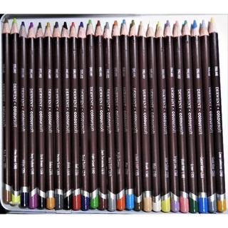 25色 ダーウェント 色鉛筆 カラーソフト  鉛筆のみ