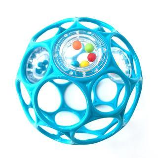 オーボール ラトル ライトブルー(ボール)