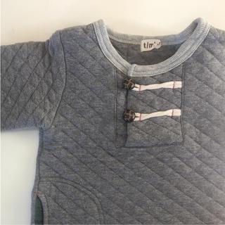 エムアンドエム(M&M)のキッズ  キルトトレーナー  100cm(Tシャツ/カットソー)