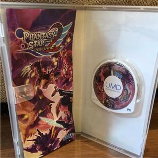 プレイステーションポータブル(PlayStation Portable)のファンタシースターポータブル2(家庭用ゲームソフト)