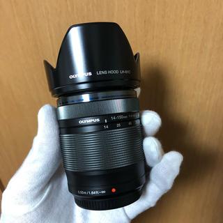 オリンパス(OLYMPUS)のOLYMPUS 14-150mm 美品  2回使用  ドライボックス保管(レンズ(ズーム))