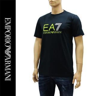 エンポリオアルマーニ(Emporio Armani)の12EMPORIO ARMANIEA7 ロゴ ネイビー 半袖 TシャツL(Tシャツ/カットソー(半袖/袖なし))