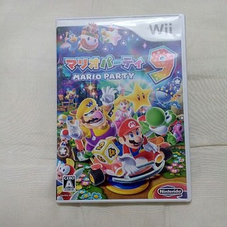 ウィー(Wii)のマリオパーティ9 wii(家庭用ゲームソフト)