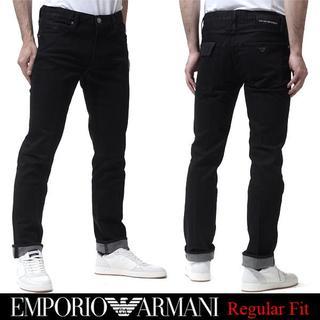 エンポリオアルマーニ(Emporio Armani)の18EMPORIO ARMANI ブラックストレッチデニムsize33(デニム/ジーンズ)