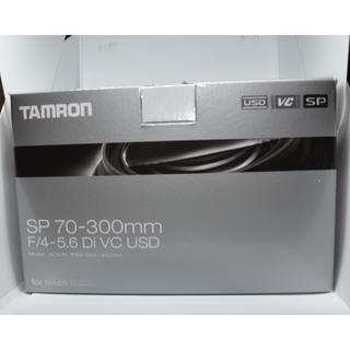 タムロン(TAMRON)のSP 70-300mm F/4-5.6 Di VC USD (a030)ニコン用(レンズ(ズーム))