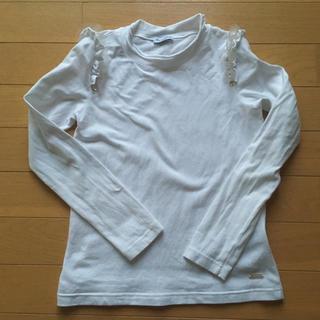 シモネッタ(Simonetta)のシモネッタ レースキラキラ長袖tシャツ 7a 130サイズ(Tシャツ/カットソー)