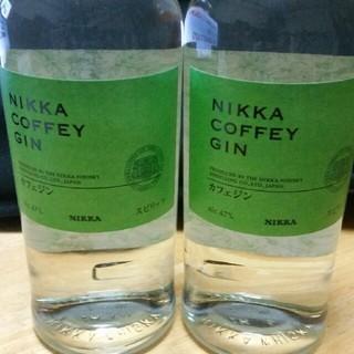 【値下げOK】ニッカ カフェジン 2本セット(蒸留酒/スピリッツ)