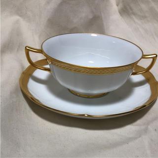 ノリタケ(Noritake)のノリタケ スープカップ&ソーサー 未使用(食器)