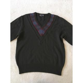 ダックス(DAKS)のDAKS 美品 ウールセーター(ニット/セーター)