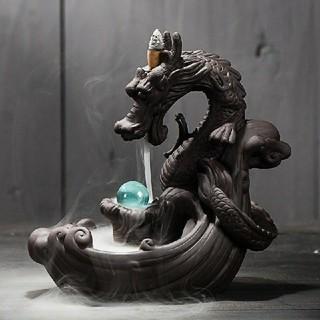 龍のお香スタンド 竜のお香スタンド ドラゴンインテリア(お香/香炉)