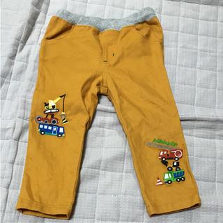 クレードスコープ(kladskap)の中古 クレードスコープ 黄色働く車パンツ 90(パンツ/スパッツ)