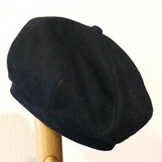 スタンレー(Stanley)のスタンレーインターナショナル ベレー帽 黒 レディース USED(ハンチング/ベレー帽)