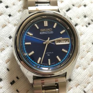 セイコー(SEIKO)のSEIKO 5ACTUS 21石 自動巻(腕時計(アナログ))