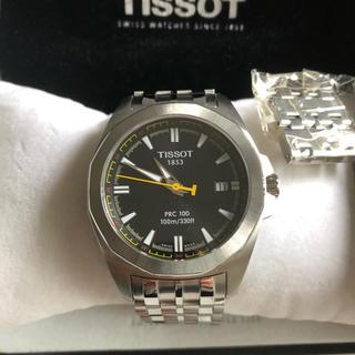 ティソ(TISSOT)のTISSOT PRC100 自動巻(腕時計(アナログ))