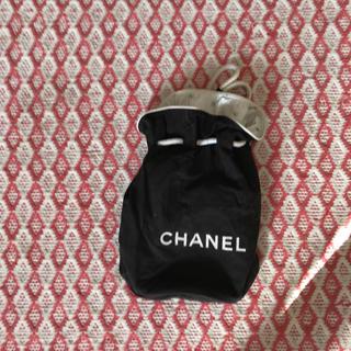 シャネル(CHANEL)の▶︎ 巾着 シャネル ミニバッグ ポーチ(その他)