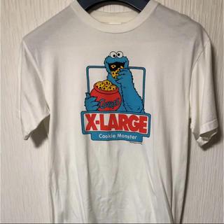 エクストララージ(XLARGE)のTシャツ セサミストリートコラボ クッキーモンスター(Tシャツ/カットソー(半袖/袖なし))