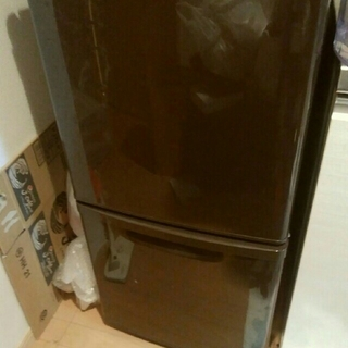 パナソニック(Panasonic)の先行出品★貴重★ブラウン冷蔵庫(冷蔵庫)