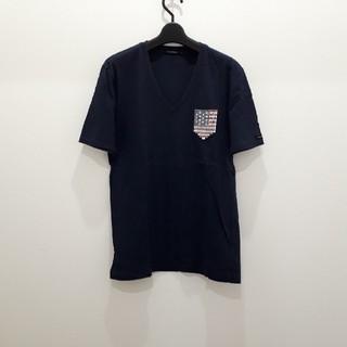 ギルドプライム(GUILD PRIME)のGUILD PRIME スパンコール ポケット Tシャツ(Tシャツ/カットソー(半袖/袖なし))