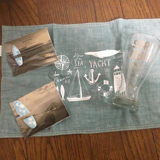 ダブルティー(WTW)のwtw ビアグラス、ランチョンマット、箸置き(テーブル用品)
