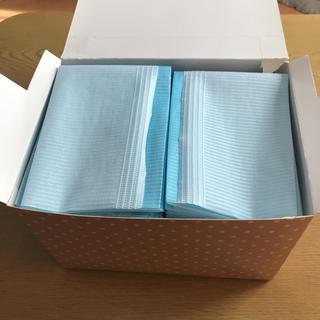 使い切り防水マルチペーパー ブルー オムツ替えシート 26枚 C(おむつ替えマット)