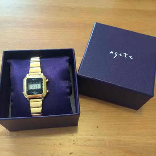 アガット(agete)の【ともみ様専用】アガット デジタル時計(腕時計)
