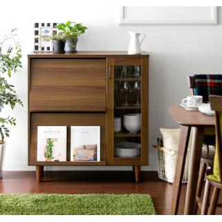 レンジ台 レンジラック レンジボード 食器棚 キッチンカウンター  キッチン収納(キッチン収納)