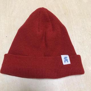 スティーブンアラン(steven alan)のSteven Alan ユナイテッドアローズ スティーブンアラン ニット帽 赤(ニット帽/ビーニー)