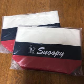 スヌーピーランチバッグ(ランチボックス巾着)