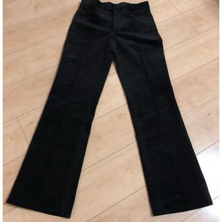ジョゼフ(JOSEPH)の新品未使用 JOSEPH ジョセフ コーデュロイ パンツ 34 黒  Sサイズ(カジュアルパンツ)