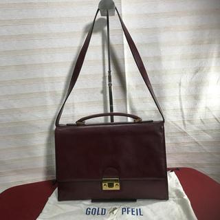 ゴールドファイル(GOLD PFEIL)のGOLD PFEIL ゴールドファイル 2WAYバッグ 正規品(ショルダーバッグ)