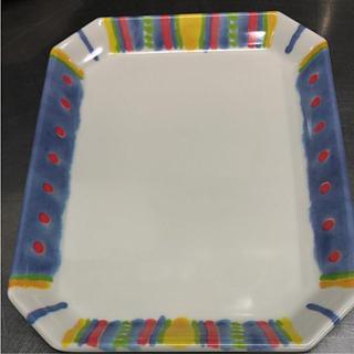 ノリタケ(Noritake)のノリタケ角皿    4枚(食器)