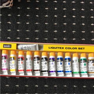 ネイル検定用絵の具13色 少し使った位新品に近い(絵の具/ポスターカラー )