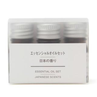 ムジルシリョウヒン(MUJI (無印良品))の無印良品エッセンシャルオイルセット 日本の香り 限定 ゆず ひのき ぽんかん 天(エッセンシャルオイル(精油))