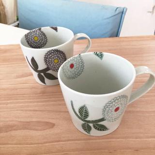 ハサミ(HASAMI)の波佐見焼 マグカップ ☻ 白山陶器 クラスカ 九谷青 マリメッコ お好きな方 (食器)