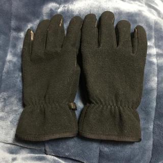 ユニクロ(UNIQLO)のユニクロ フリース手袋 黒 L(その他)