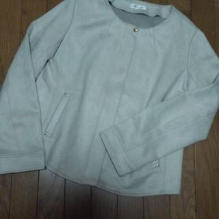 アンナルナ(ANNA LUNA)のゆりりん8999様専用 スエード調ジャケット(ノーカラージャケット)